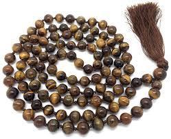 Tiger Eye Jap Mala 108 Beads