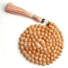 Peach Aventurine Jap Mala 108 Beads