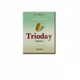 Trioday Tablets (Efavirenz + Lamivudine + Tenofovir )