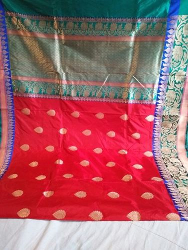 BANARASI PURE KATAN SILK HANDLOOM WEAWING TRADITIO