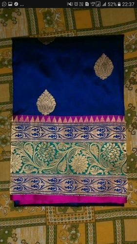 Banarasi Pure Katan Silk Traditional Handloom Weaw