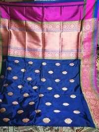 PURE KATAN SILK  HANDLOOM TRADITIONAL WEAWING SARE