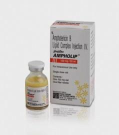 Ampholip Amphotericin B 100mg Injection