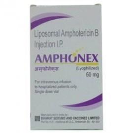 Amphonex Amphotericin 50 mg Injection