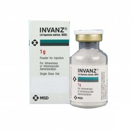 Invanz Ertapenem 1g Injection