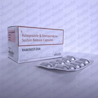 Rabeprazole, Domperidone sustained release tablet