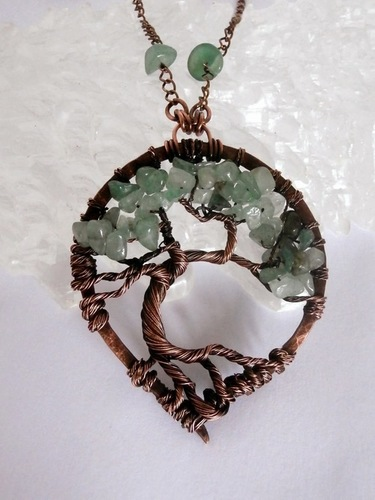 Perfectly Twisted Handmade Wire Wrapped Beaded