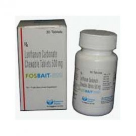 Fosbait Lanthanum 500 mg Tablets