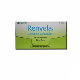 Renvela Sevelamer Carbonate 800 mg Tablets