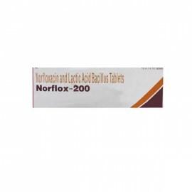 Norflox Norfloxacin 200mg Tablets