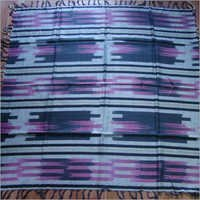 Ekkat Print Design yarn dyed scarf