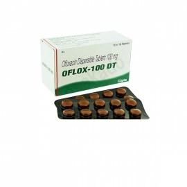 Oflox-DT Ofloxacin 100 mg Tablets