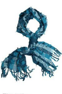check design yarn dyed scarves
