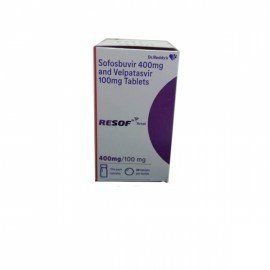 Resof Total Sofosbuvir 400 mg & Velpatasvir 100 mg Tablets