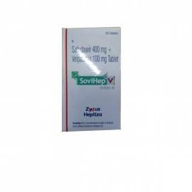 Sovihep V Sofosbuvir 400mg & Velpatasvir 100mg Tablets