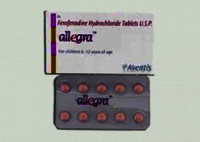 Allegra Fexofenadine 120 mg Tablets