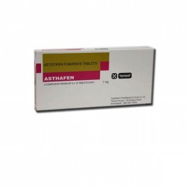 Asthafen Ketotifen 1 mg Tablets