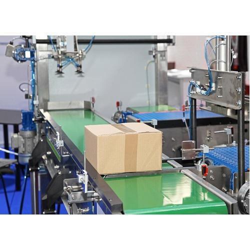 Assembly Line Belt Conveyor System
