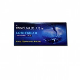 Lonitab Minoxidil 10 mg Tablets