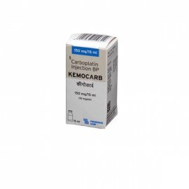 Kemocarb Carboplatin 150 mg Injection