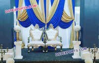 Beautiful Chairs Set For Indian Wedding