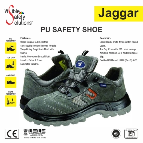 Allen Cooper Leather Safety Shoes