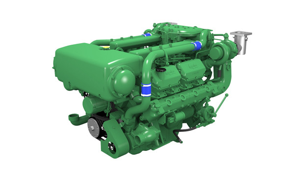 Marine heavy duty engine 400 hp