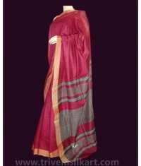 Cotton Silk Border Saree