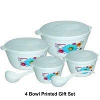 4 Serving Bowl Gift Set (printed)