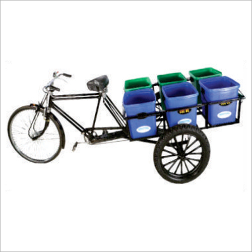 Tri Cycle Dustbin