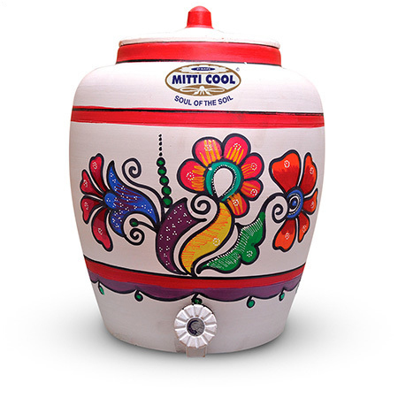 Clay Water Pot 10 Ltr