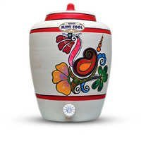 Clay Water Pot 15 Ltr