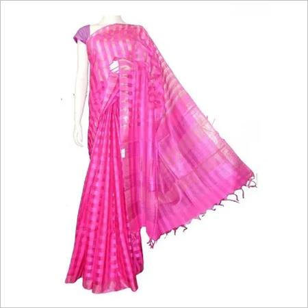 Noil Silk Saree