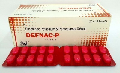 Diclofenac Potassium & Paracetamol Tablet