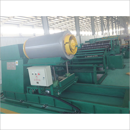 Silicon steel sheet longitudinal cutting machine