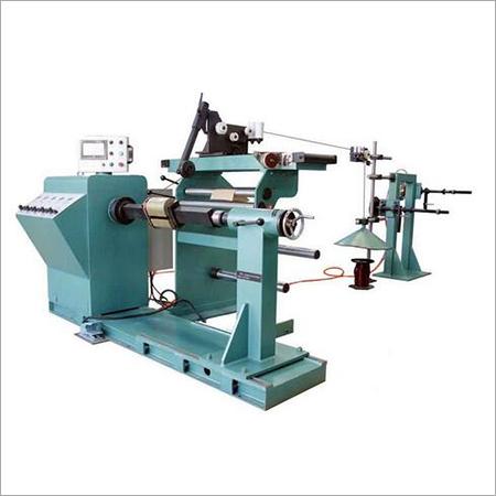 Automatic HV transformer coil winding machine