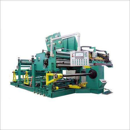 LV transformer foil winding machine