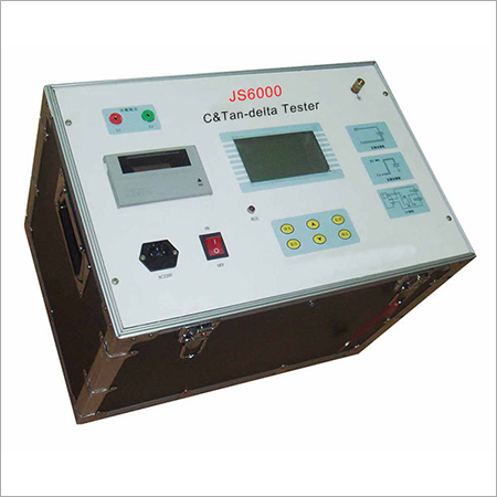 Transformer capacitance & dissipation factor measuring bridge