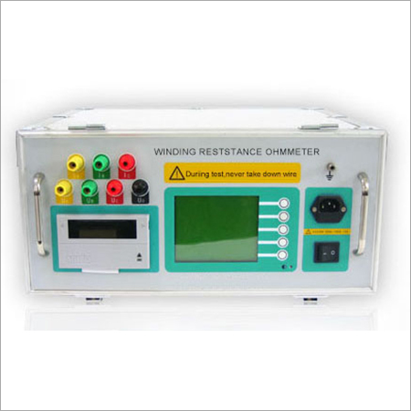 Transformer Winding Resistance Ohmmeter