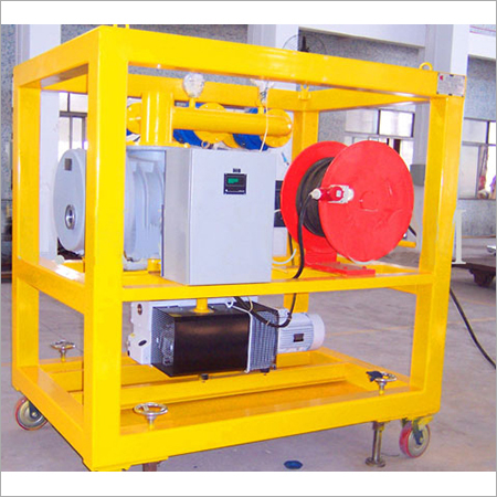 Transformer Movable vacuum pumping unit