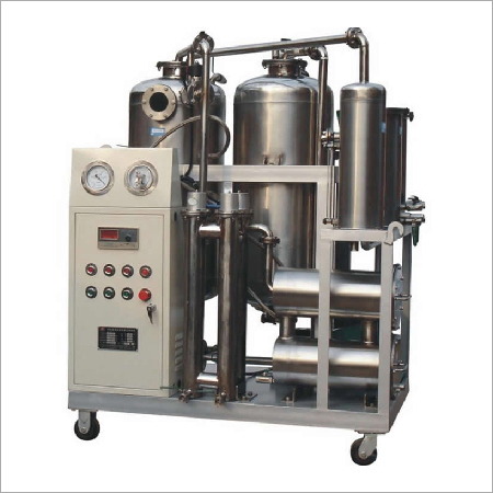 Transformer oil vacuum treatment equipment
