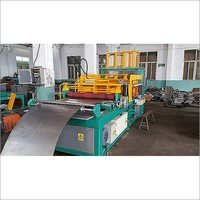 Corrugated tank fin wall forming machine
