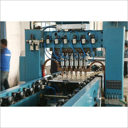 Transformer radiator panel machine