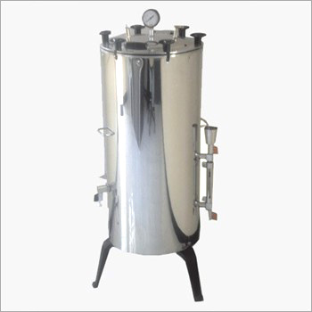 Vertical Autoclave Double Drum