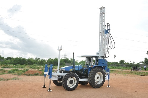 Tractor Mounted Mud Rotary Water Well Rig
