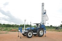 Tractor Mounted  Rotary Water Well Drilling Rig