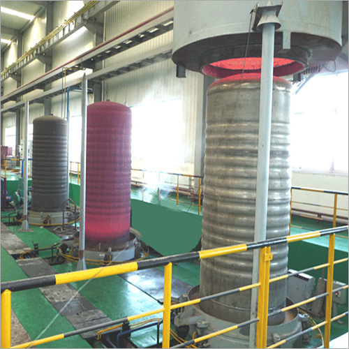 Annealing Furnace S.S Retort With Heating Hood