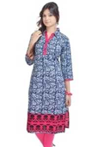 Party Wear Cotton Kurti