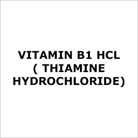 Vitamin B1 HCL (Thiamine Hydrochloride)