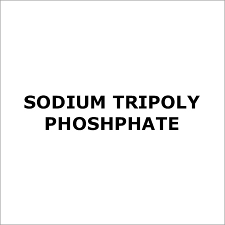 Sodium Tripoly Phoshphate